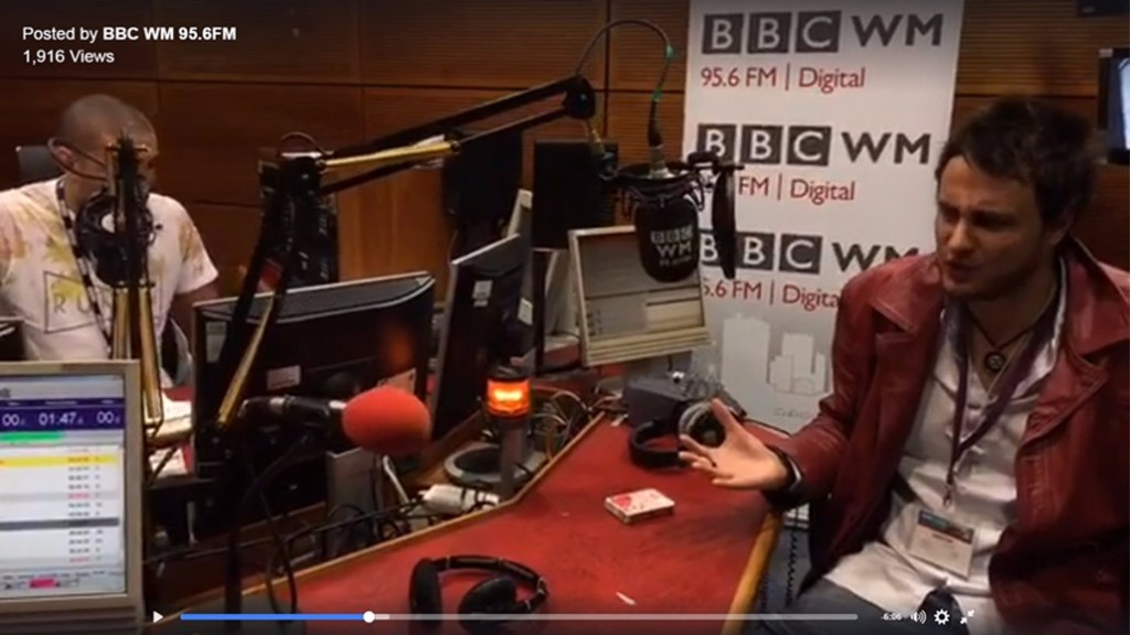 magician bromsgrove mark infiniti magic bbc wm radio interview