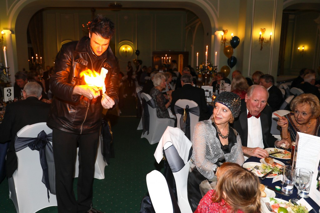 staffordshire magician close up party