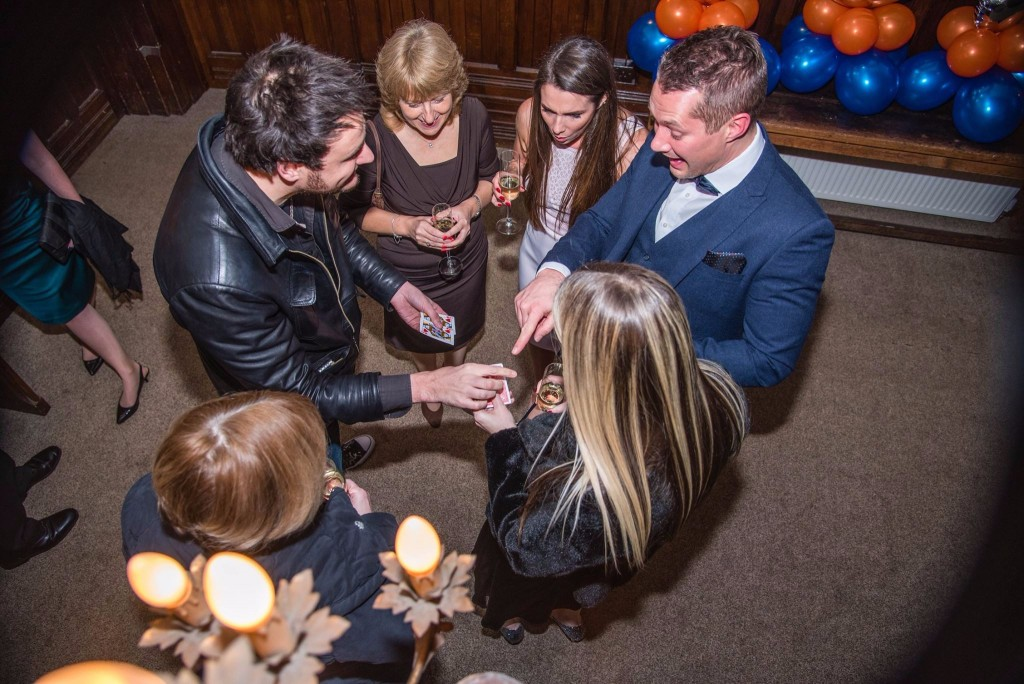 magician lichfield infiniti hire close up magic